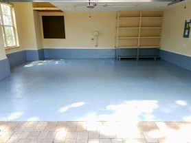 Epoxy Innovations Chip Floor After